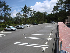 山梨県立富士北麓駐車場(駐車スペース)
