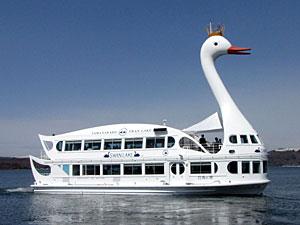 遊覧船「白鳥の湖」