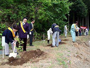 富士山環境美化植樹祭