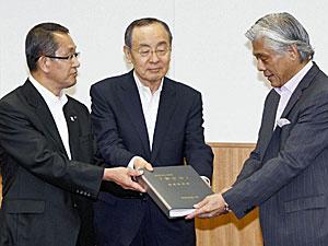 富士山の価値を証明する推薦書原案を文化庁に提出