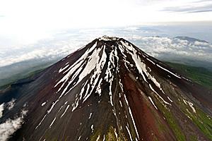 世界文化遺産登録が決まった富士山