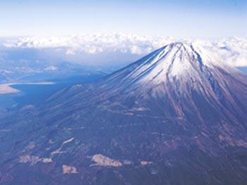 暫定リストに登録されている富士山