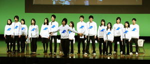 国民会議学生部のメンバー