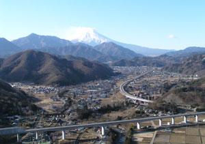 富士山や山梨リニア実験線