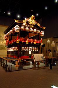 八朔祭の大型屋台
