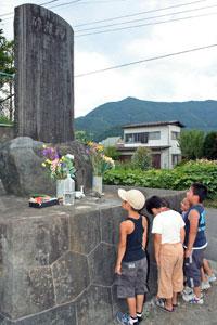 吉田空襲殉難碑