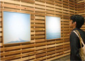 写真家岡崎さん、富士山など活写