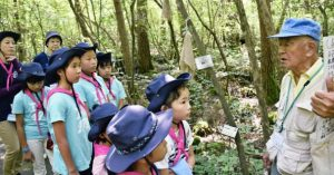 富士山の自然、ガイドが紹介