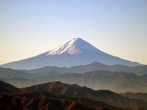 三窪高原からの富士