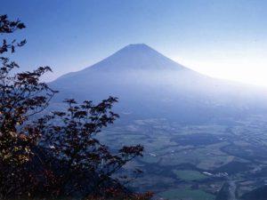 毛無山からの富士