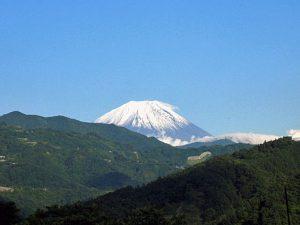 大法師公園からの富士