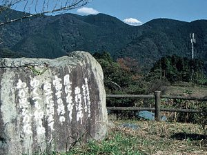 西行峠からの富士
