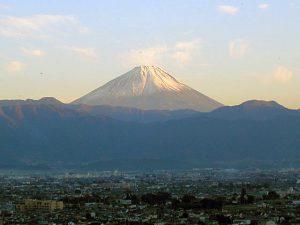赤坂台地からの富士