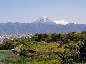 梅の里からの富士