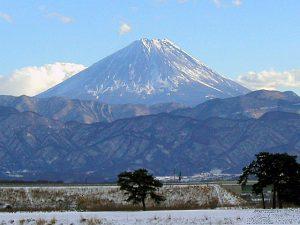 双田橋からの富士
