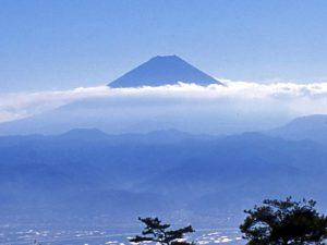甘利山からの富士
