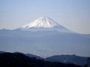 ホッチ峠からの富士