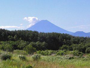 明野農村公園からの富士