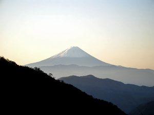 木賊峠からの富士