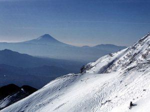 赤岳からの富士
