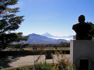 清泉寮からの富士