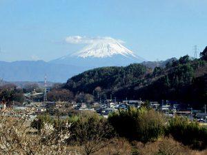 花水坂からの富士