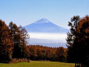 小荒間からの富士
