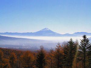 観音平からの富士