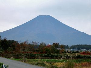 農村公園からの富士