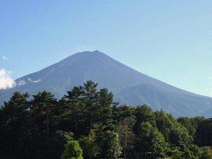 富士北麓公園からの富士