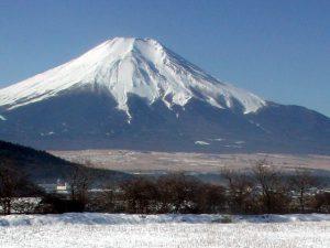 忍野村内野からの富士