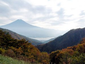 御坂峠天下茶屋からの富士