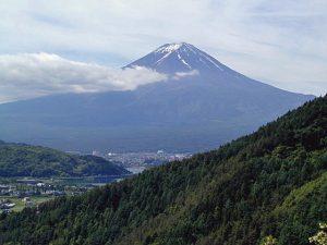 新御坂峠からの富士