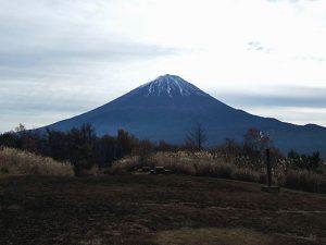 三湖台からの富士