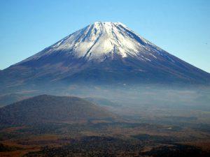 パノラマ台(精進・本栖)からの富士