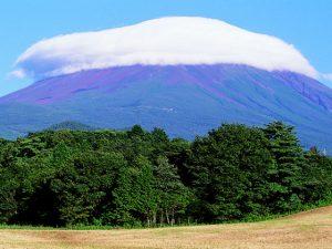 富士ケ嶺からの富士