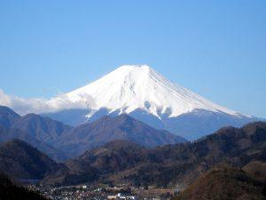 岩殿山からの富士
