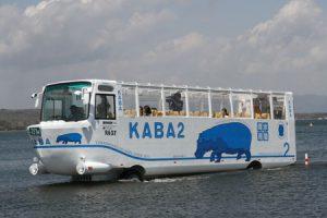 水陸両用バス KABA2号