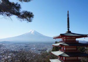 開運×絶景スポットランキングで9位にランクインした新倉山浅間公園(新倉富士浅間神社)