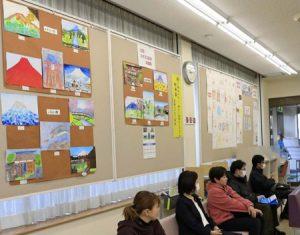 文化財や自然描いた小中学生の15点紹介