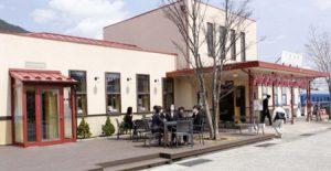 リニューアルしたカフェ「下吉田倶楽部」=富士吉田市新町2丁目