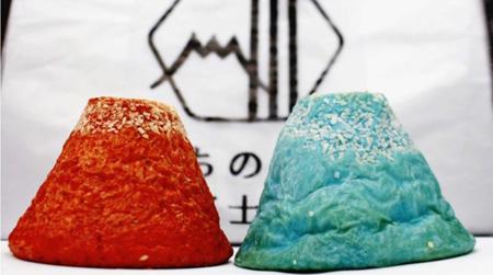 青と赤のカレーパン