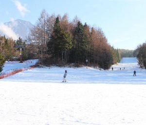鳴沢村のスキー場「ふじてんスノーリゾート」