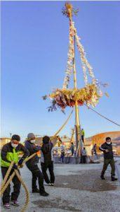 山中湖村平野の「御神木祭」