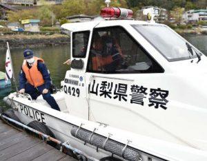 水難事故防止へパトロール
